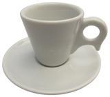 Xícara de Café com Pires em Porcelana Dinamarca Germer