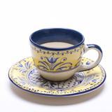 Xicara de Café com Pires Fiore - 6 Unid - Soul home