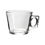 Xícara de Chá Café Em Vidro Transparente Lisa 200 Ml - 123 útil