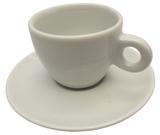 Xícara de Chá com Pires em Porcelana Itália Germer