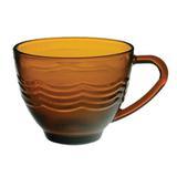 Xícara De Chá Em Vidro 240 Ml Octo Amber - 123 útil