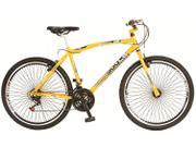 Bicicleta Colli Bike Cb 500 Aro 26 Rígida 21 Marchas - Amarelo
