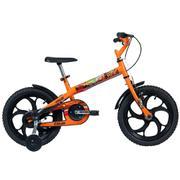 Bicicleta Caloi Power Rex Aro 16 Rígida 1 Marcha - Laranja
