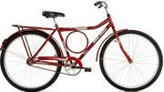 Bicicleta Mormaii Valente Aro 26 Rígida 1 Marcha - Vermelho