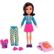 Boneca Polly Pocket Mattel Casa Divertida - Crissy