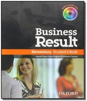 Business Result Elementary Students Book Oxford
