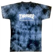 38aa2b799fd1 Camiseta Thrasher Magazine Skate Board Flame Tie Dye - Newbeat ...