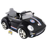 Mini Carro Kiddo Beat 6v Com Controle Remoto - Preto