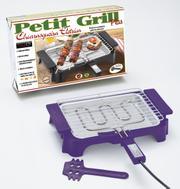 Churrasqueira Anurb Elétrica Petit Grill Plus Roxo 220v