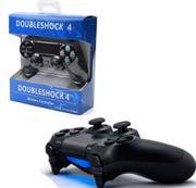 Controle Ps4 Doubleshock Preto Ps4 Play 4 S/fio Modelo Novo - Hsy