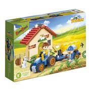 Banbao Eco Fazenda Trator Tanque 185 Peças 8582