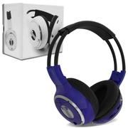 Fone de Ouvido Headphone Via Infravermelho Azul Tech One