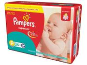 Fralda Pampers Supersec P - 34 Unidades