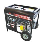 Gerador de Energia Diesel 5500w Toyama Monofásico Bivolt - Td6000cxe