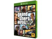 Grand Theft Auto V para Xbox One - Rockstar - 220V