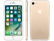 Iphone 7 Apple 256gb Dourado 4g Tela 4.7 Retina - Câm. 12mp + Selfie 7mp Ios 10 Proc. Chip A10