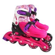 Patins Astro Toys Ajustável Rosa 8963