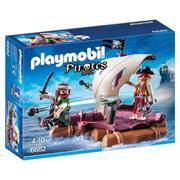 Boneco Playmobil Jangada Com Piratas Sunny Brinquedos