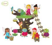 Quebra Cabeça 3d na Maletinha - Árvore das Fadas Krooom