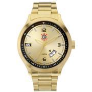 Relógio Technos Corinthians Analógico COR4465A 4D Masculino ... 7cc3462e7a