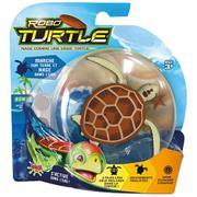 Boneco Robo Turtle Marrom Dtc