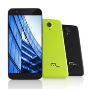 Smartphone Ms50 4g Câmera 8 Mp + 5 Mp Quad Core 1gb Ram Preto Multilaser - P9013 -