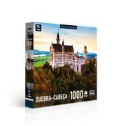 Quebra Cabeça Castelo de Neuschwanstein 1000 Peças Toyster
