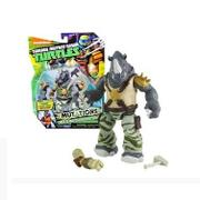 Boneco Tartarugas Ninjas Mutantes Basicas Rocksteady Multikids