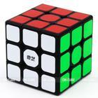 Cubo Mágico Profissional 3x3x3 Qiyi Sail W Preto