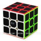 Cubo Mágico Profissional 3x3x3 Qiyi Warrior W Carbono