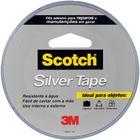 Fita Adesiva Silver Tape Cinza 45mm x 25m 1 UN 3M