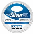 Fita silver tape 48mmx5m branca multiuso / rl / tek bond