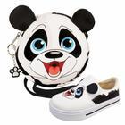 Kit Infantil Bolsa e Tênis Panda, Magicc Kids
