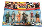 Naruto Kit Completo 6 Bonecos Com Led Articulados 15cm