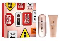 Kit Carolina Herrera Perfume 212 Vip Rose Feminino EDP 50ml + Loção Hidratante 75ml