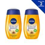 NIVEA Sabonete Líquido Natural Oil 200ml - 2 unidades