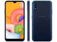Smartphone Samsung Galaxy A01 32GB Azul Octa-Core