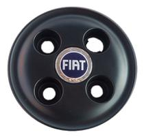 01 Calota Tampa Meio Da Roda De Ferro Aro 13 Fiat Uno Palio - Sm