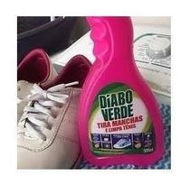 01 Refil Tira Manchas E Limpa Tenis Diabo Verde 500ml -