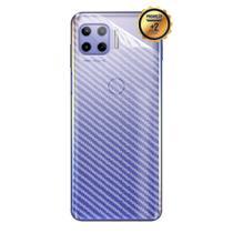 02 Película Fibra Carbono Skin Traseira MOTO G 5G PLUS XT2075 (Tela 6.7) CELL IN POWER25 -