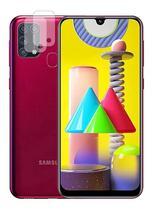 02 Película Nano Gel Flexível P/ Lente de Câmera Samsung Galaxy M31 - Dv Acessorios