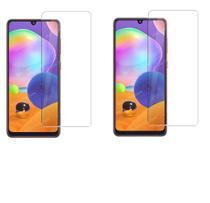 02 Películas De Vidro Comum Anti Risco Samsung Galaxy A31 - Dv Acessorios