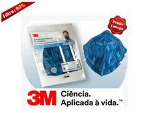03 Máscaras de Proteção Respiratória Clip Nasal  3M 9820 BR N95 -