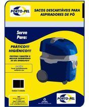 03 Saco Para Aspirador De Pó Electrolux Flex Portopel - Porto-pel