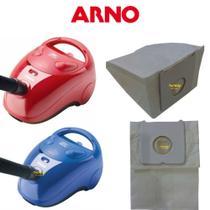 03 Sacos Descartável Aspirador Pó Descartável Arno Triton 1300 1400 -
