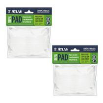 04 Refils Pad Para Recorte De Pintura E Acabamento Atlas -