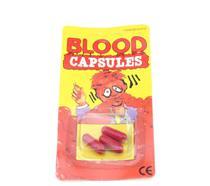 06 capsulas do sangue do vampiro  (Blood Capsules). B+ - Loft