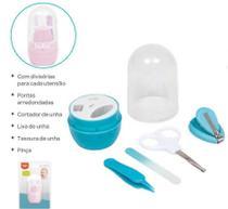 09801 Kit Cuidados Baby Com Estojo AZUL - Buba