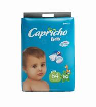 1 Fralda Capricho Atacado XG Com 64 unid - Capricho Baby Plus