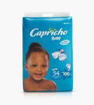 1 Fralda Capricho Barato XXG Com 54 unidades Cada Pacote - Capricho Baby Plus